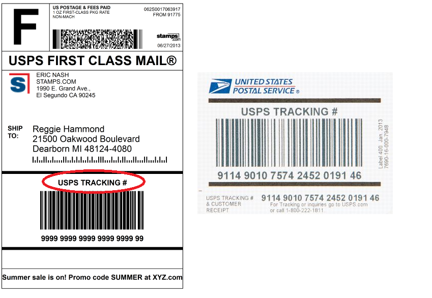 Delivery Confirmation is now called USPS Tracking