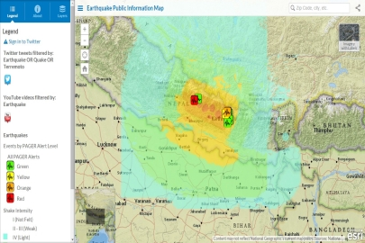 Nepal Earthquake Story Map ]]