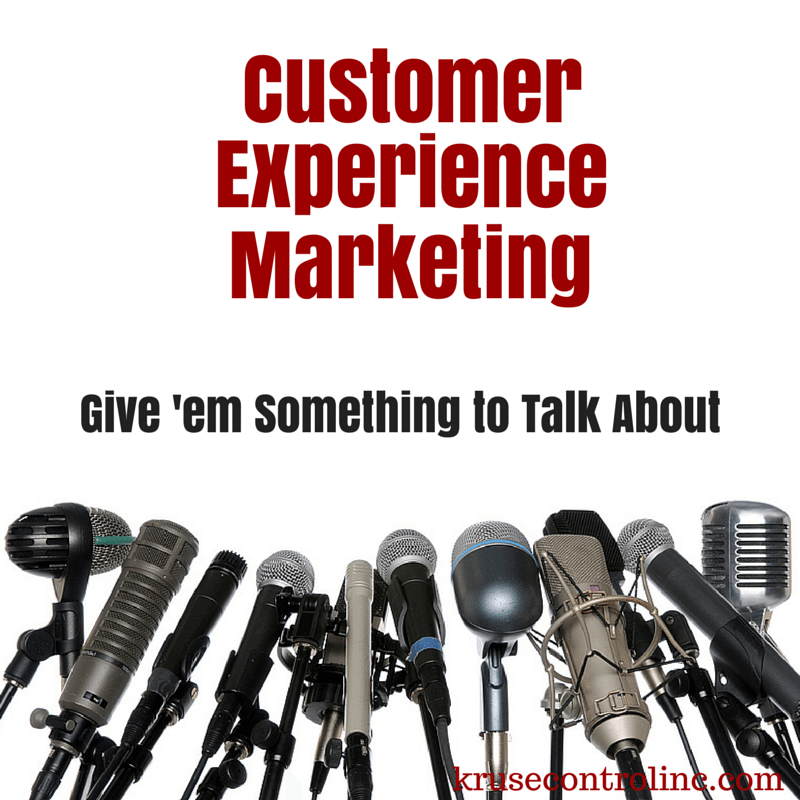 Customer Experience Marketing: Give