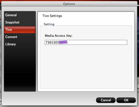 ... for ATV 3 will asks for Media Access Key when loading TiVo files