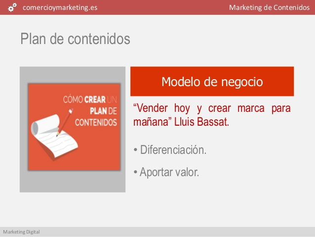 comercioymarketing es marketing de contenidos marketing digital plan ...
