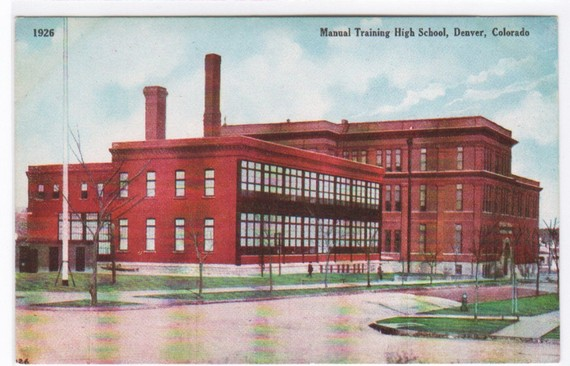 ... to Manual Training High School Denver Colorado 1910c postcard on Etsy