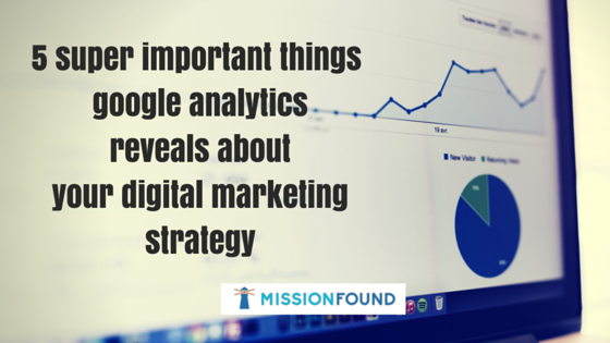 google analytics reveals about your christian organization