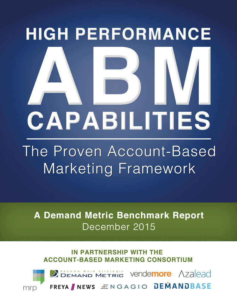 The proven Account-based marketing framework. A demand metric ...