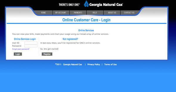 Georgia Natural Gas Login - Websites - Pinterest - Georgia and Natural