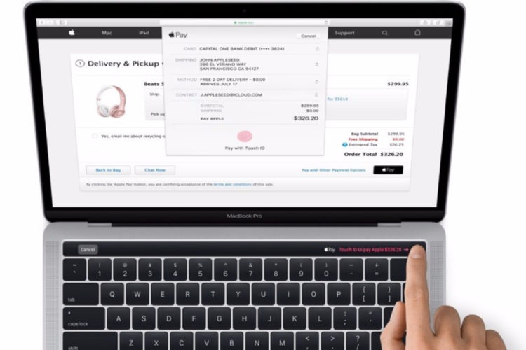 El nuevo MacBook Pro tendra panel tactil OLED con Touch ID-MediaTrends