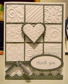... it like embossed handmade cards handmade cards dry embossed best stuff