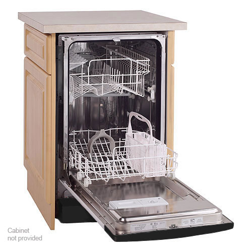 ... 18-Inch Wide 8 Setting Capacity Built-In Dishwasher Stainless Steel