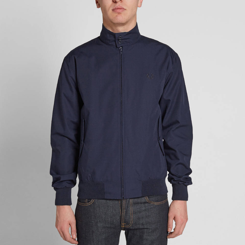 Fred Perry Reissues Made in England Harrington Jacket (Navy
