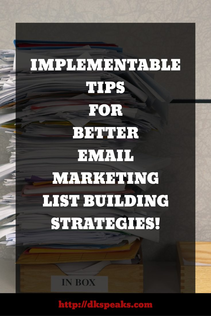 ... confident are you about your email marketing list building strategies