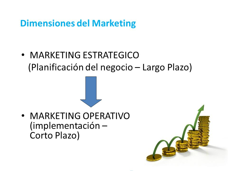 MARKETING ESTRATEGICO. (Planificaci