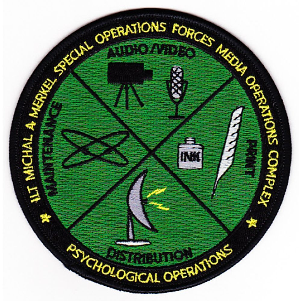 ... Merkel Media Operations Complex Psychological Operations Patch - eBay