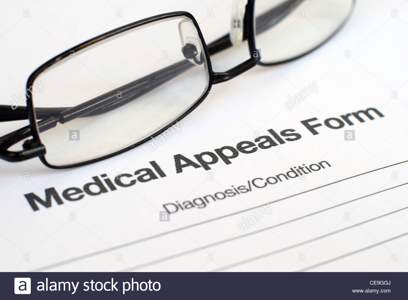 medical appeals form Stock Photo, Royalty Free Image: 43236498 - Alamy