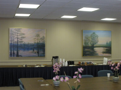 Southern Landscape Art on Display