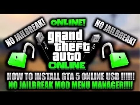 GTA 5 ONLINE: MOD MENU NO JAILBREAK TUTORIAL 1.27 - YouTube