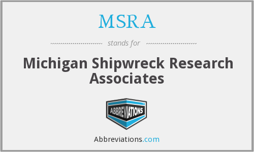 MSRA - Michigan Shipwreck Research Associates