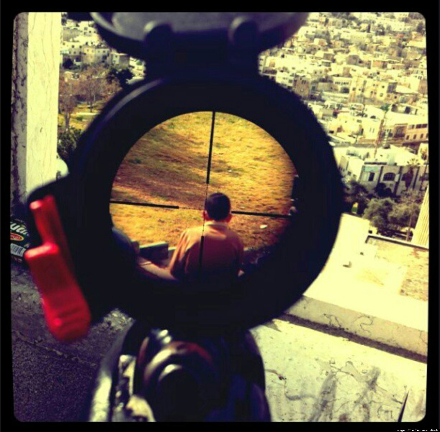 ... Of Palestinian Child In Crosshairs On Instagram (PHOTO) - HuffPost