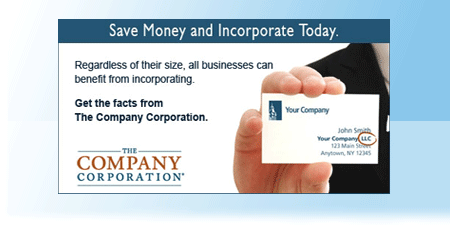 Incorporate or form an LLC