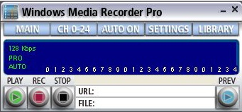 Windows Media Recorder (WMR PRO) is an application, that allows you to ...