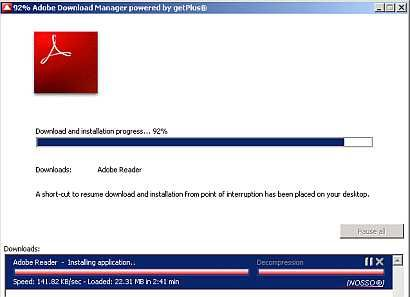 to download offline installer of latest adobe reader for offline