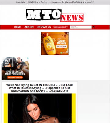 MediaTakeOut Still Posting Lies About Kim Kardashian