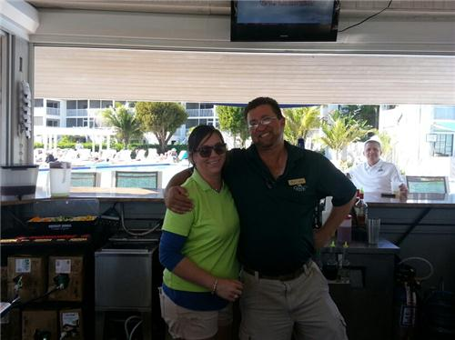 Ft. Myers Travel Tip: Must visit Jessie (left) and Chris at Coconuts ...
