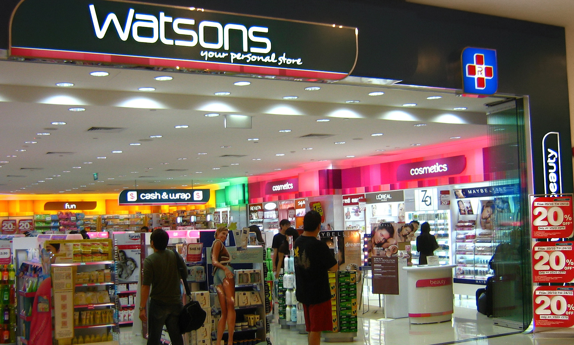 Watsons looking to make e-commerce push - Marketing Interactive