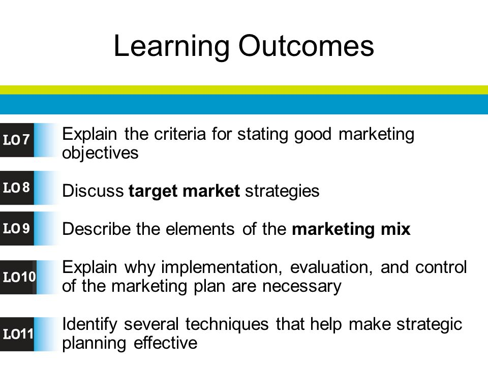 ... marketing mix. Explain why implementation, evaluation, and control of