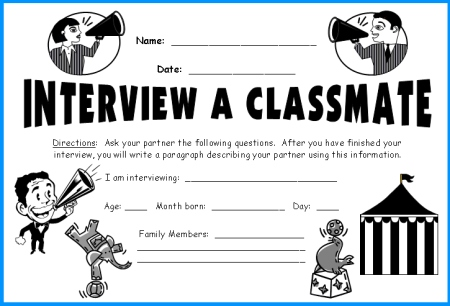 ... Megaphone Templates fun Back To School lesson plans and ideas