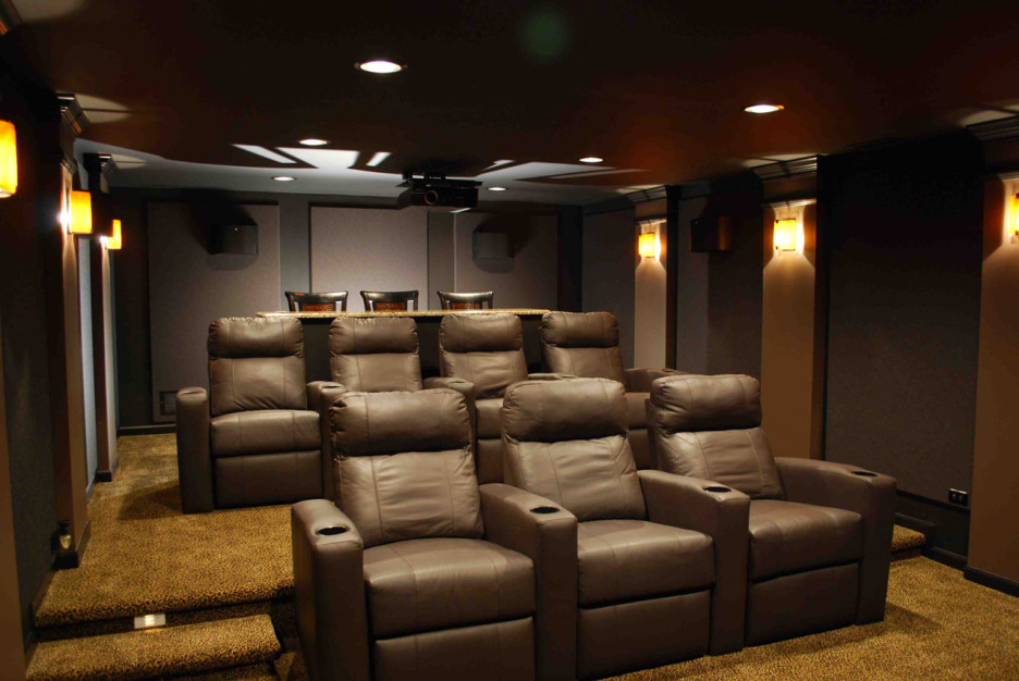 ... room seating with recliners. media room seating in dallas. Furniture