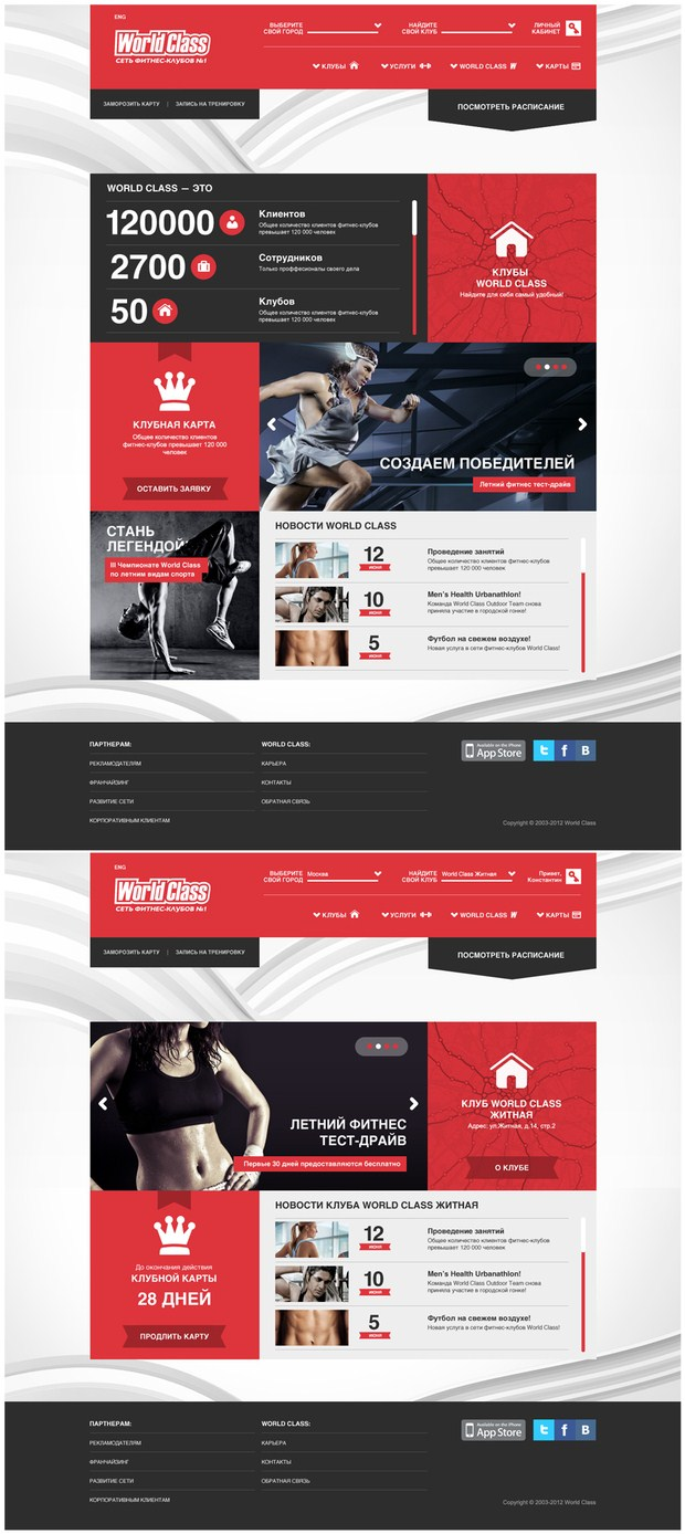... design daniel sitek portfolio the camry effect world class fitness web