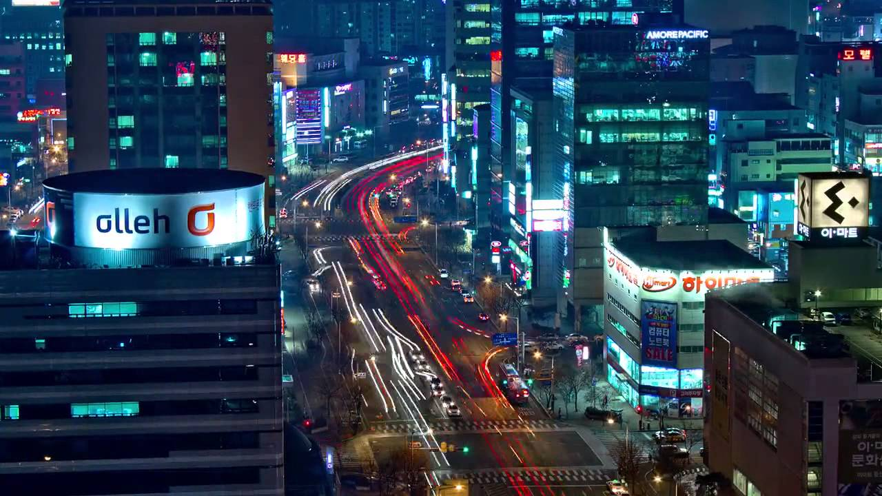 Time lapse Daejeon,South Korea - YouTube