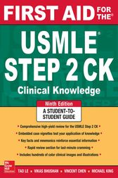 ... the USMLE Step 2 CK, Ninth Edition (ebook) by Tao Le - 9780071844581