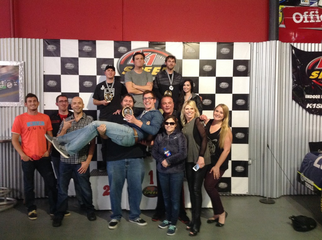 SEO Inc takes to the tracks at K1 Racing Carlsbad, CA