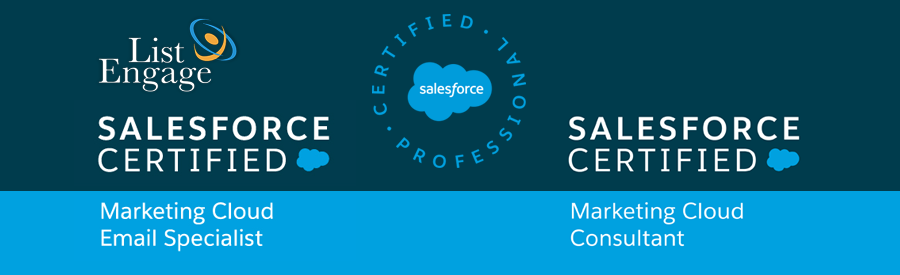ListEngage: 40+ Salesforce Certifications