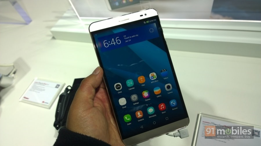 The MediaPad X2 from Huawei is a 7-incher with calling capabilities ...