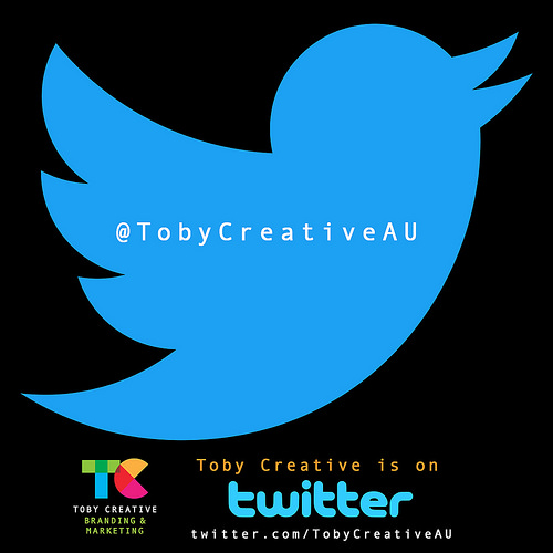 We would love you to follow TobyCreative on Twitter @TobyCreativeAU