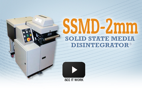 The SSMD-2mm Solid State Media Disintegrator has been e valuated by ...