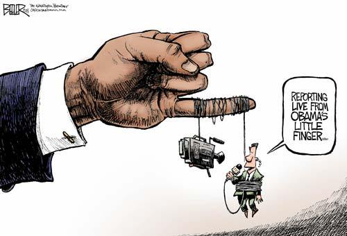 Obama Media Control Cartoon - OTB - Online Journal of Politics and ...