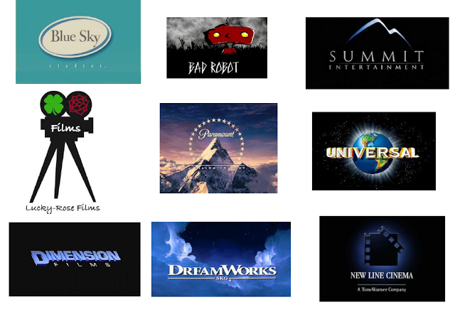 ORM AS Media: Film Production Company Logo Examples