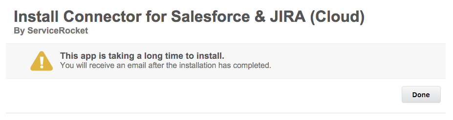 Installing the Salesforce Package - Salesforce