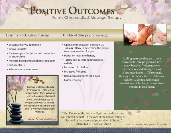 of Massage Therapy Brochure Ideas - Massage Therapy Advertising Ideas ...
