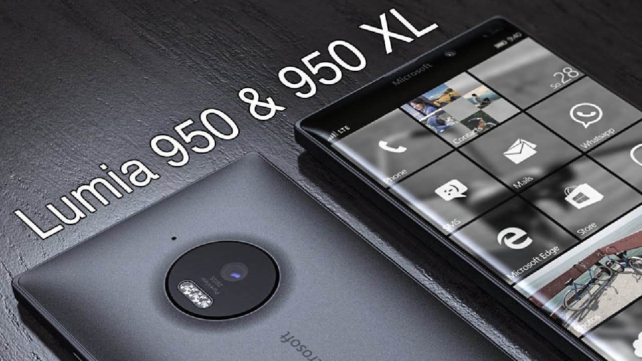 Microsoft Lumia 950, 950 XL, Surface Pro 4 Release Date, Specs and ...