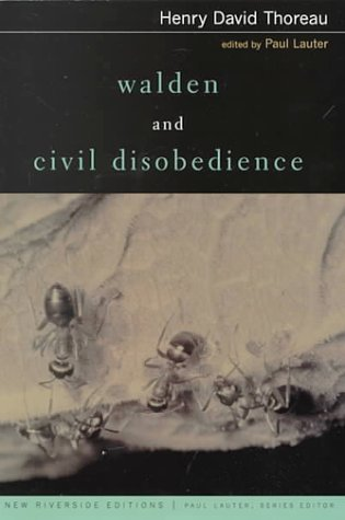 Download free pdf Walden and Civil Disobedience