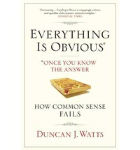 Download free pdf Everything Is Obvious: Why Common Sense Is Nonsense
