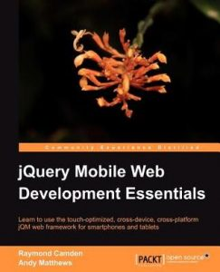 jQuery Mobile Web Development Essentials torrent downlaod