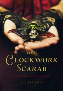 The Clockwork Scarab  <small>(Stoker & Holmes #1)</small> torrent downlaod