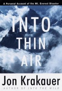 Into Thin Air: A Personal Account of the Mount Everest Disaster torrent downlaod