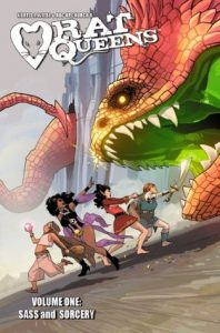 Rat Queens, Vol. 1: Sass & Sorcery  <small>(Rat Queens #1)</small> torrent downlaod