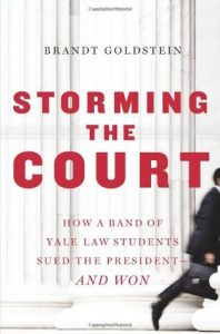 Storming the Court: How a Band of Yale Law Students Sued the President–And Won torrent downlaod